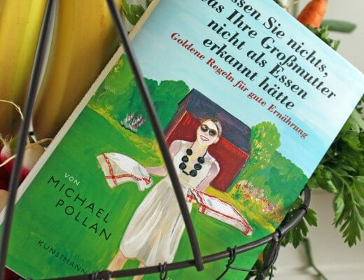 Give Away Michael Pollan Buch {flowers on my plate}