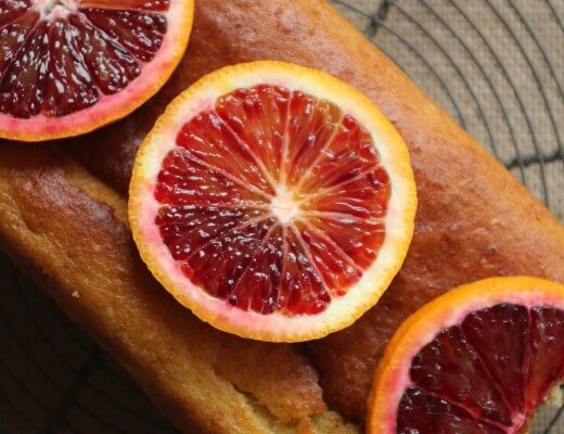 Blutorangen-Joghurt-Kuchen