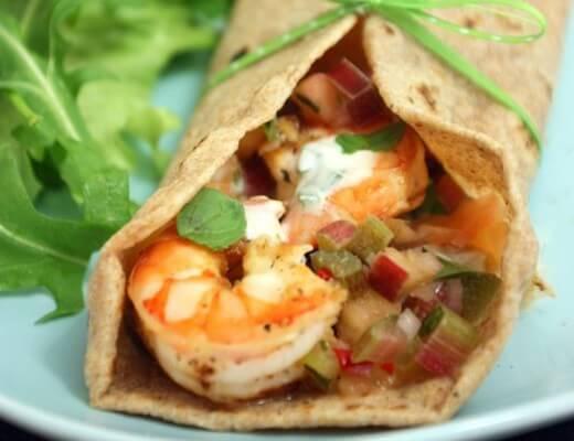 tequila-shrimp-tacos-rhabarber-ananas-salsa
