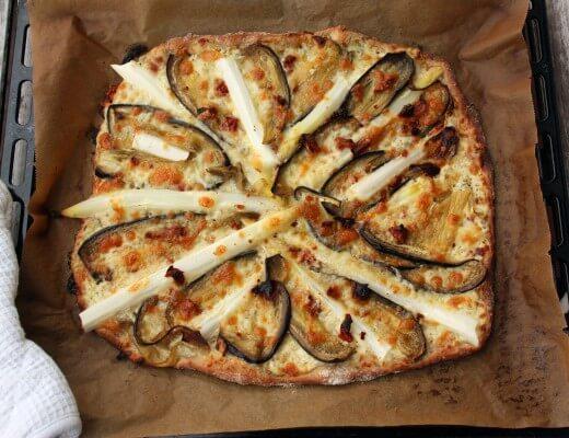auberginen-spargel-pizza