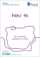 How to be mentally healthy at work