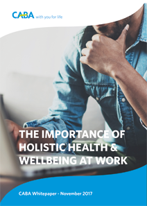 The importance of holistic health and wellbeing at work