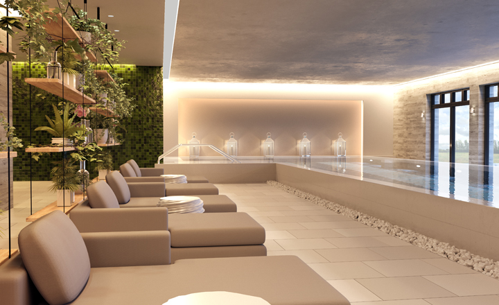The spa at Inspired Retirement Villages