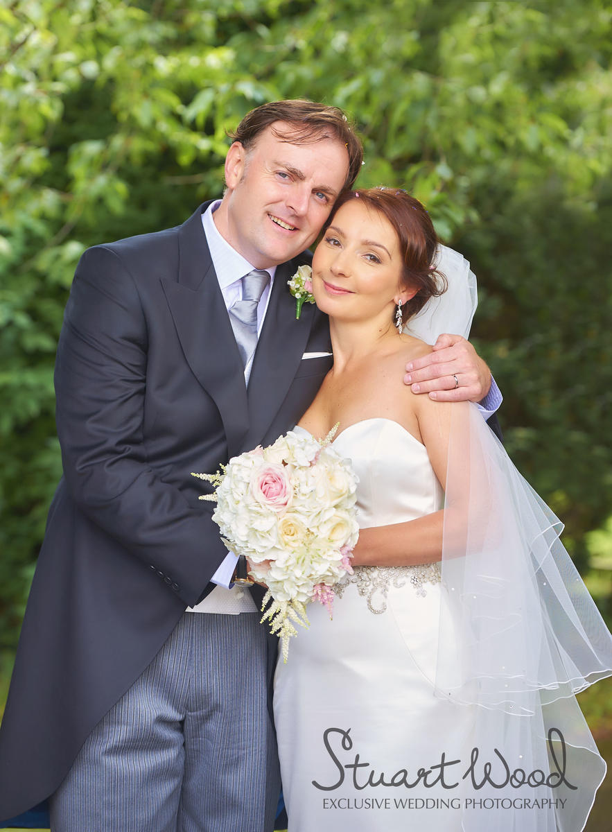 Stuart Wood Weddings / New Bath Hotel Matlock Weddings / Simon & Georgina / Simon & Georgina Couple
