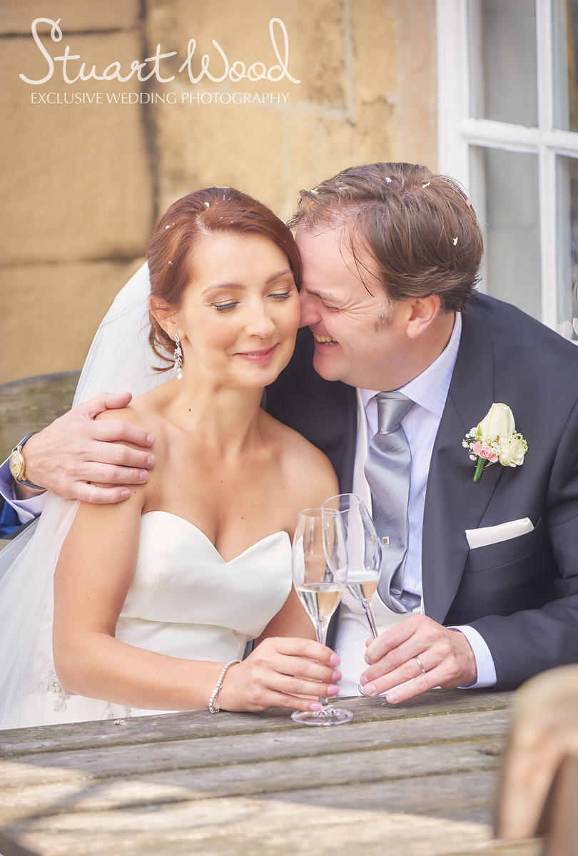 Stuart Wood Weddings / New Bath Hotel Matlock Weddings / Simon & Georgina / Pub