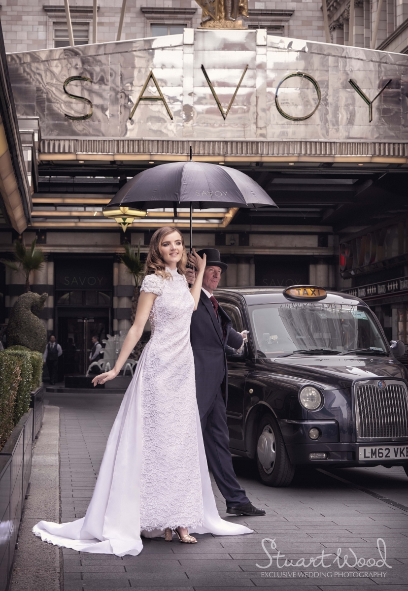 Stuart Wood Weddings / Suzie Turner Couture Wedding Gowns / The Savoy