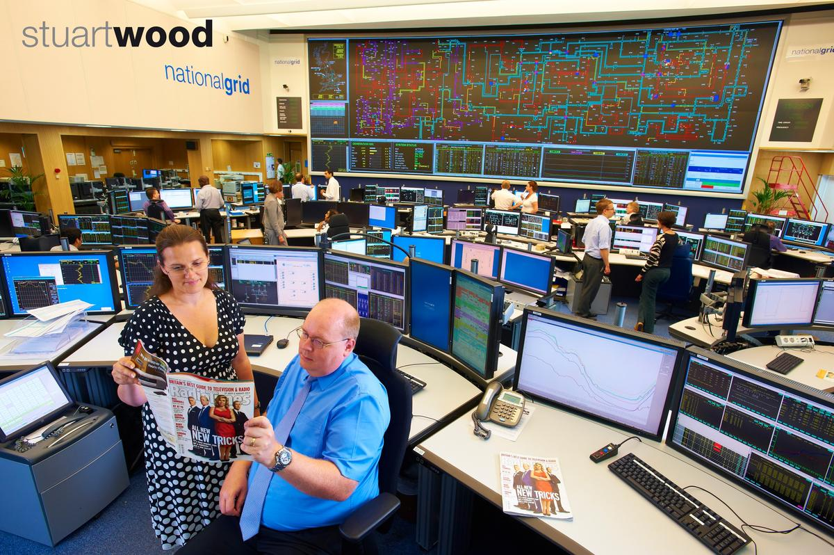My image shot at the national grid for the radio times is for Grid room