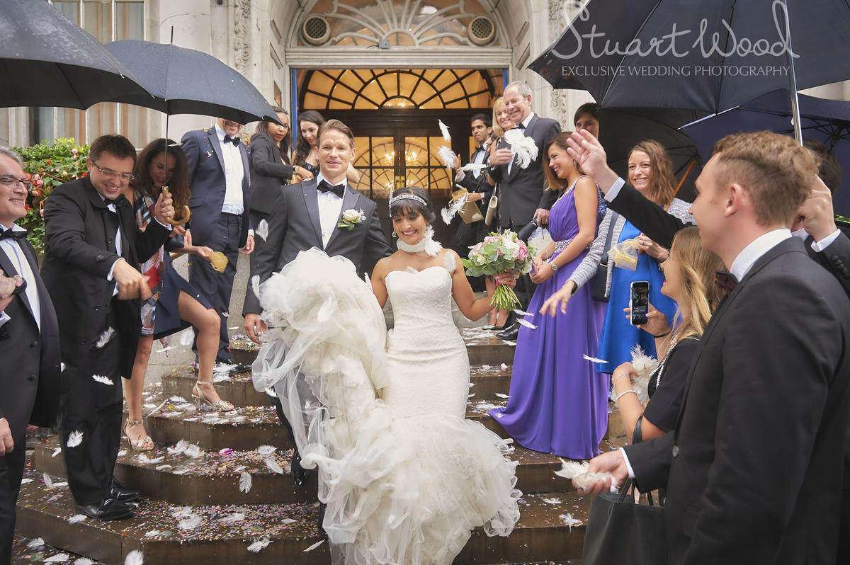 Stuart Wood Weddings / Chelsea Town Hall Weddings / Belvedere Holland Park Weddings / Town Hall Steps