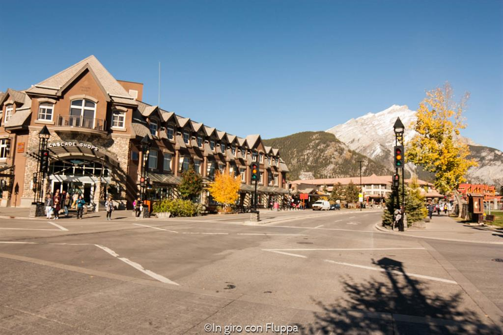 Banff National park - Banff town