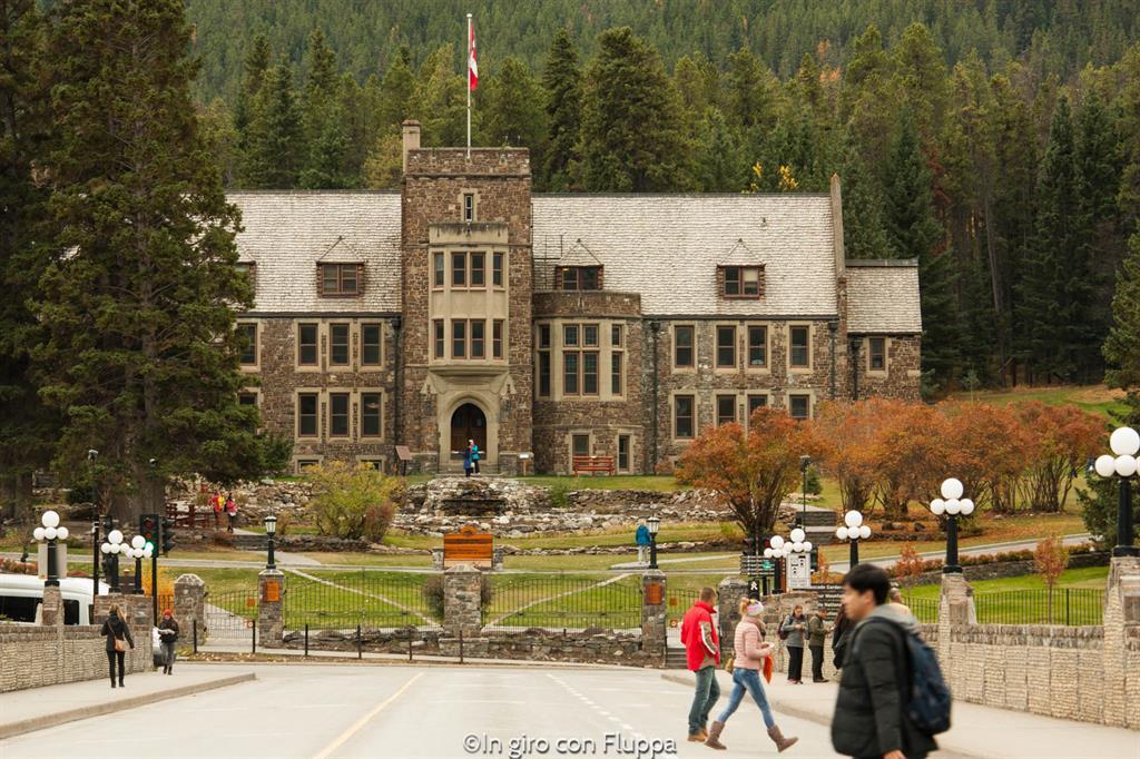 Banff National park - Banff town, Cascade Gardens