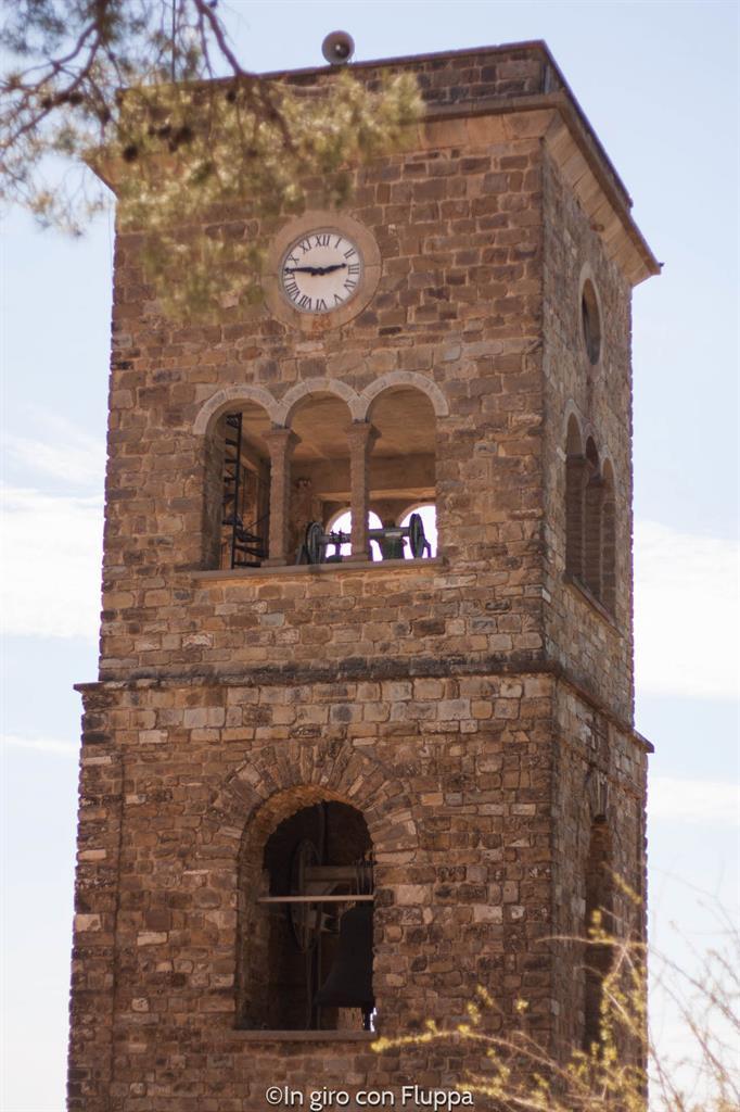 Castellabate - torre della Basilica Pontificia Minore