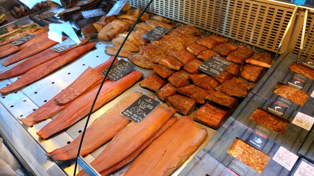 Dove mangiare a Bergen: Fisketorget, il mercato del pesce