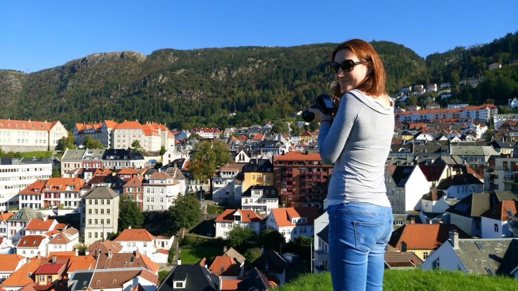 Bergen: fa caldo