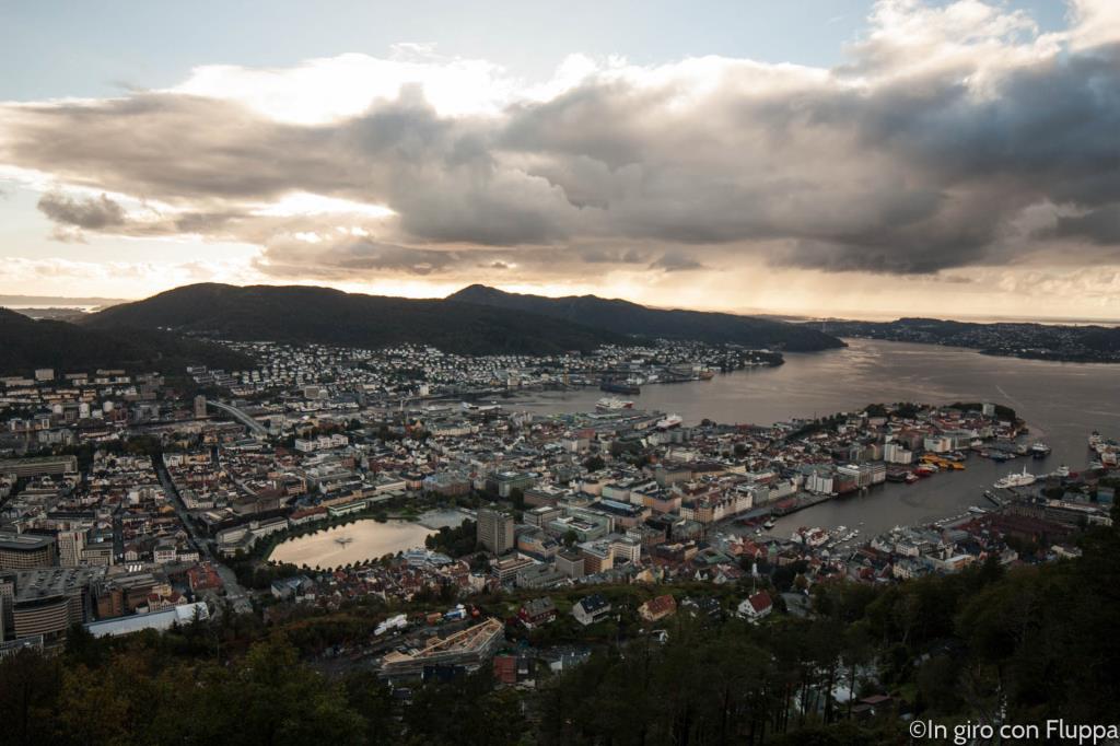 Cosa vedere a Bergen: il Monte Fløyen