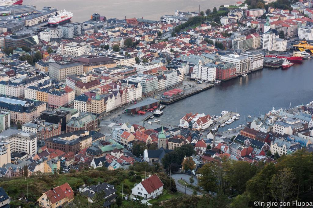 Bergen - Mt. Fløyen