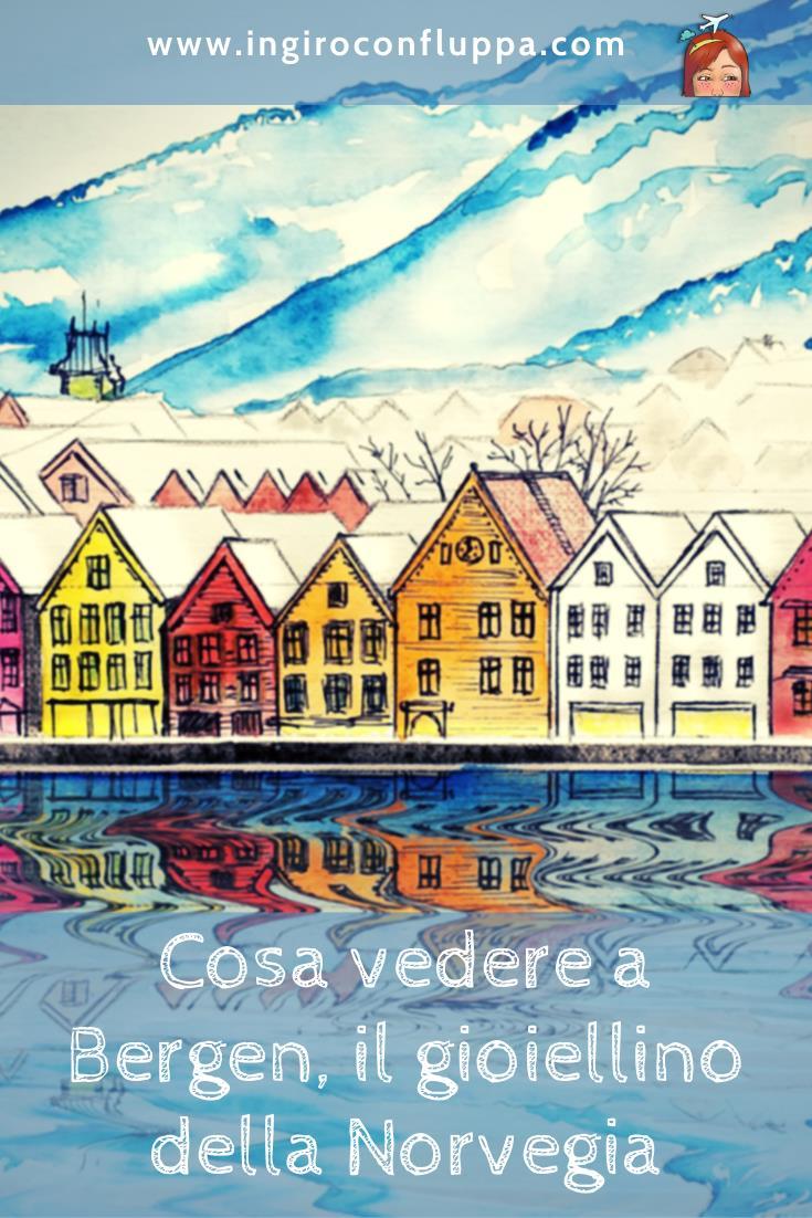 Cosa vedere a Bergen? Salva l'articolo su Pinterest!