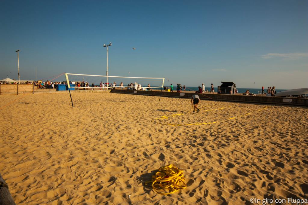 Brighton - campo di beach volley