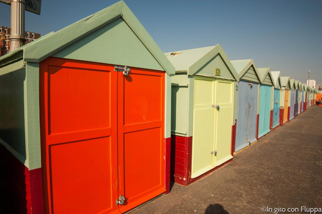 Brighton - beach huts