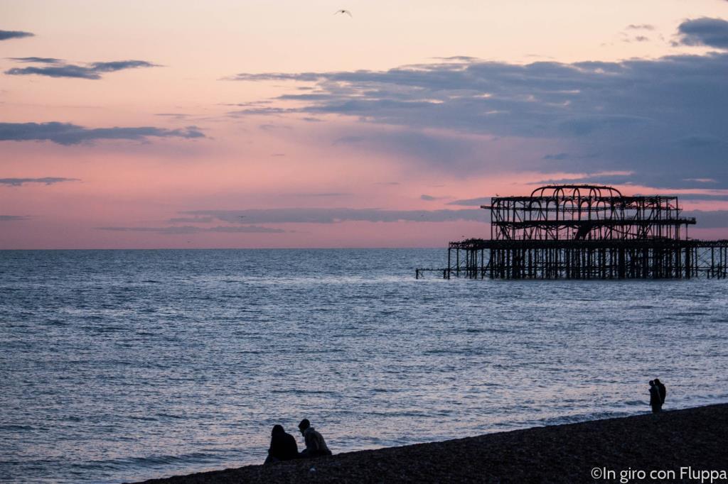 Brighton - il vecchio pontile