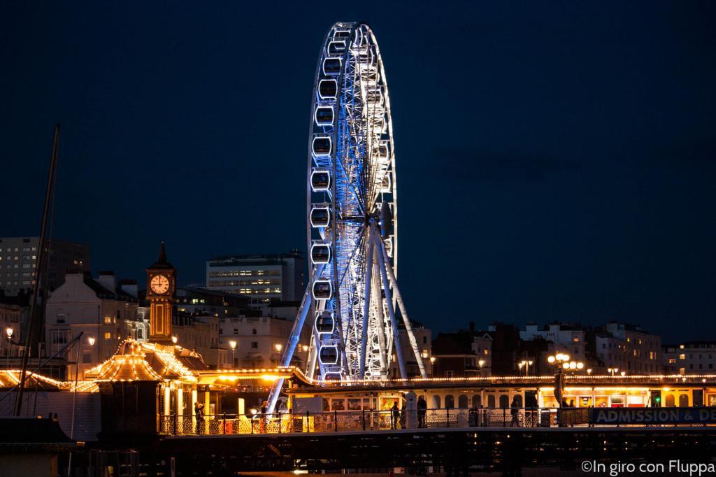 Brighton - la vecchia ruota panoramica