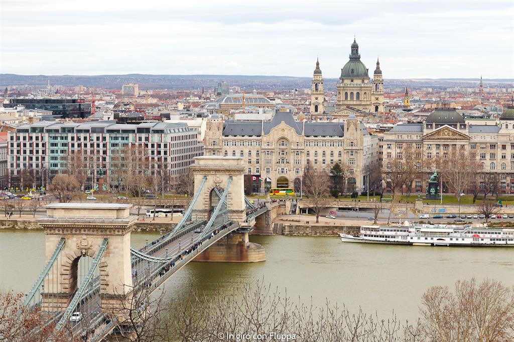 Cosa visitare a Budapest in 4 giorni: Ponte delle Catene