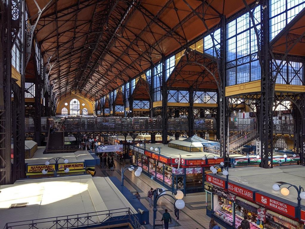 Cosa visitare a Budapest in 4 giorni: il Mercato centrale