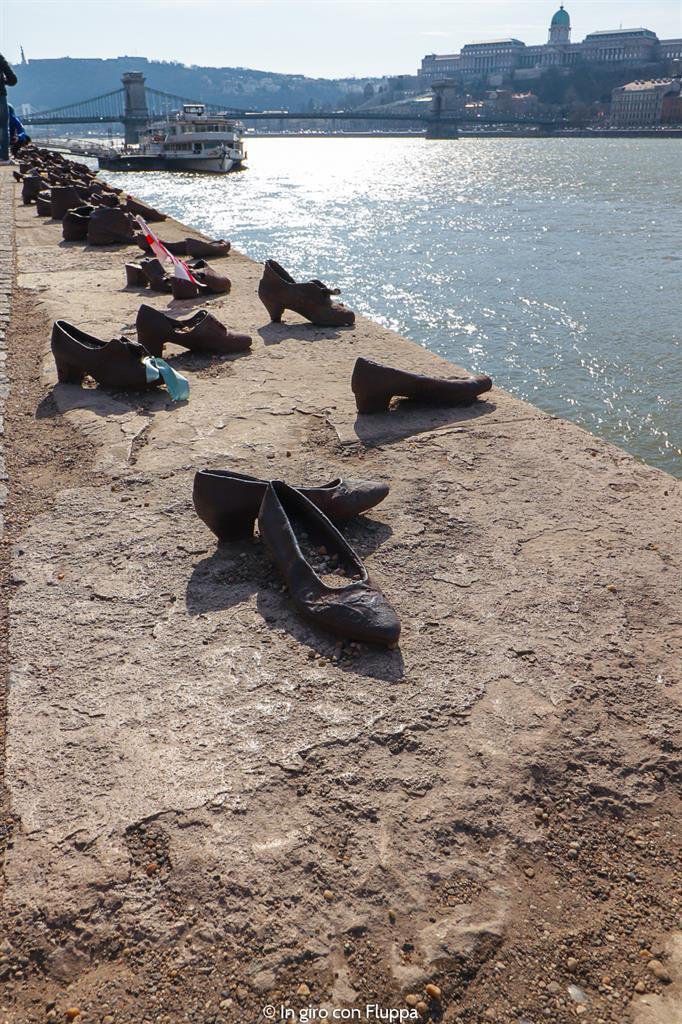 Cosa visitare a Budapest in 4 giorni: le Scarpe sul Danubio