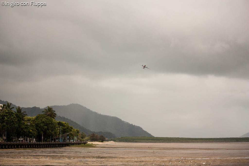 Cairns, bassa marea