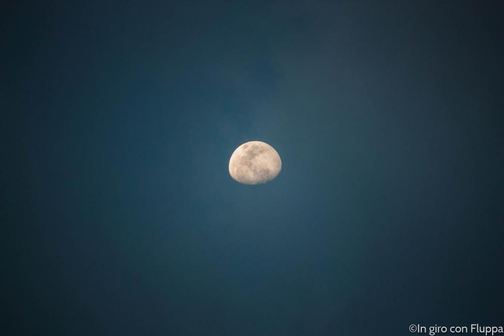 la luna vista da Port Douglas