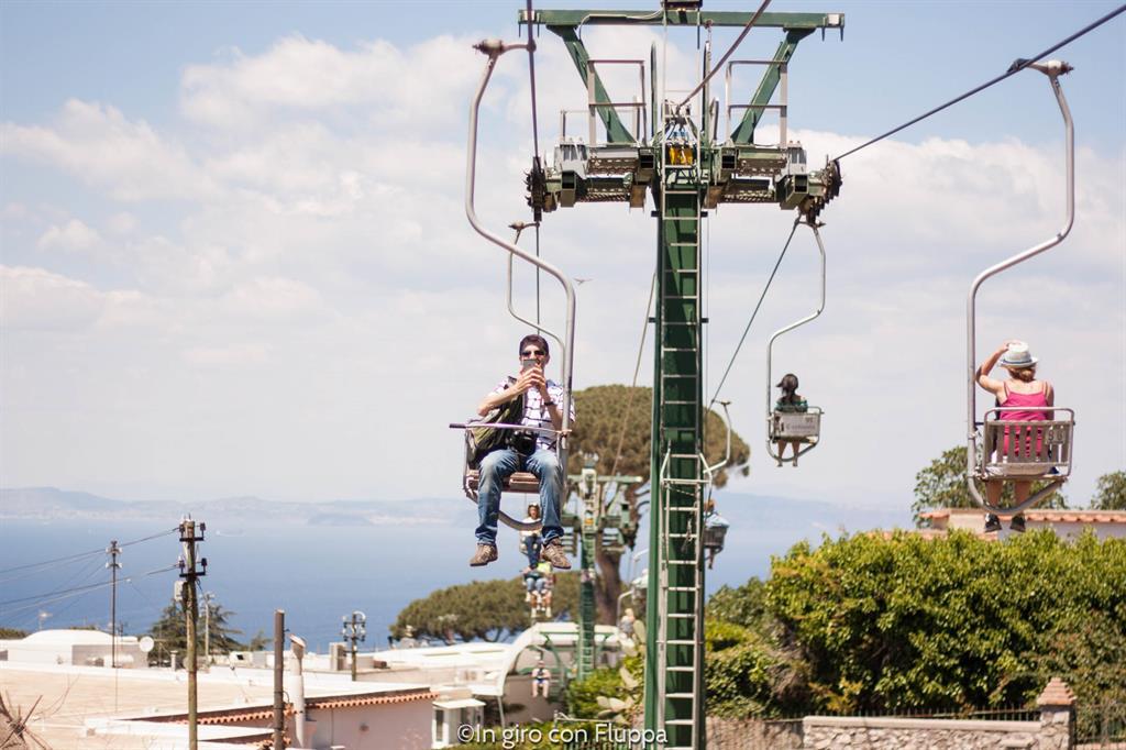 Anacapri - Seggiovia Monte Solaro
