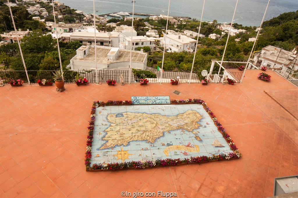 Capri - mappa