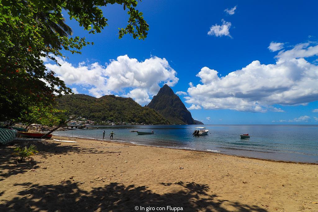 Cosa fare a Santa Lucia, isola dei Caraibi: i Pitons