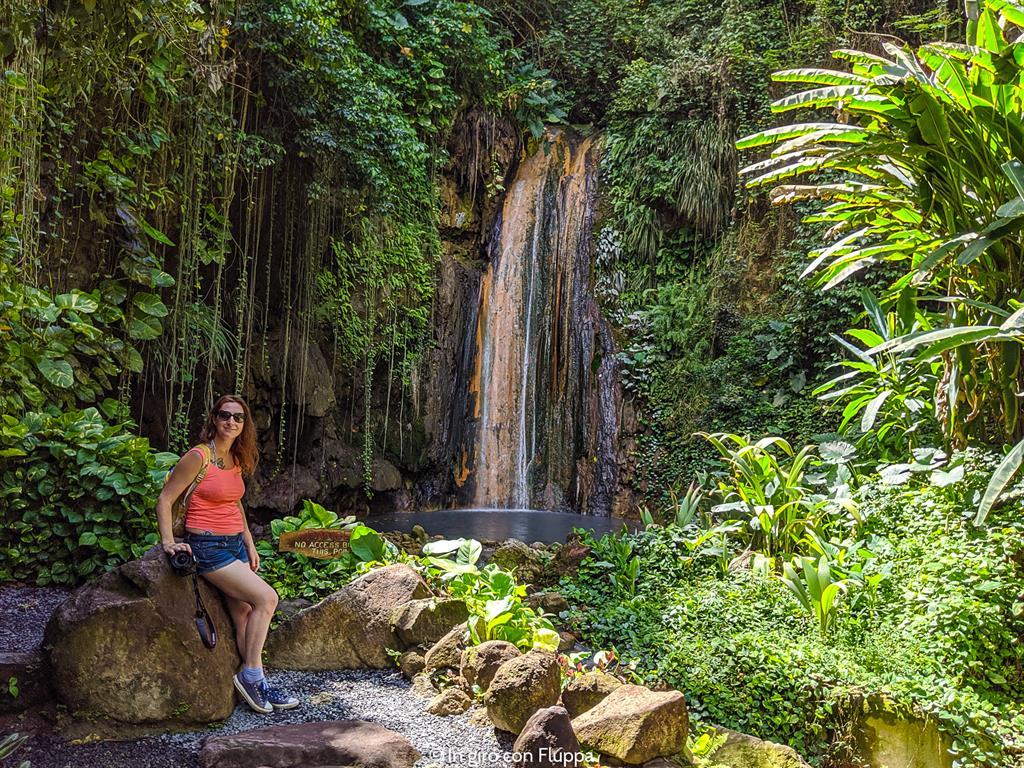 Cosa fare a Santa Lucia, Caraibi: Diamond waterfall