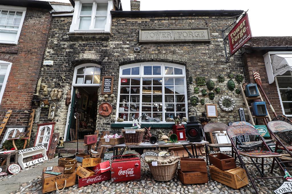 Cosa vedere a Rye in un giorno: vintage shop