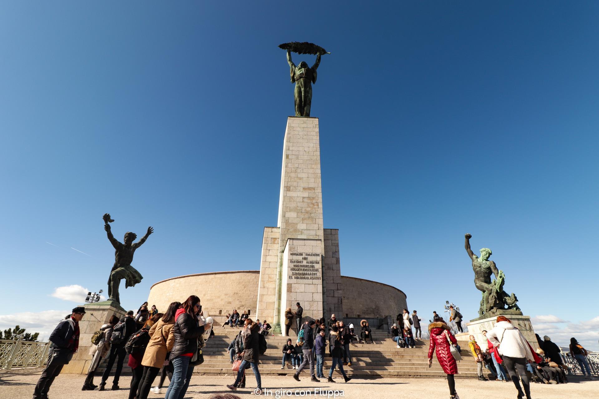 Cosa visitare a Budapest in 4 giorni: Collina di Géllert
