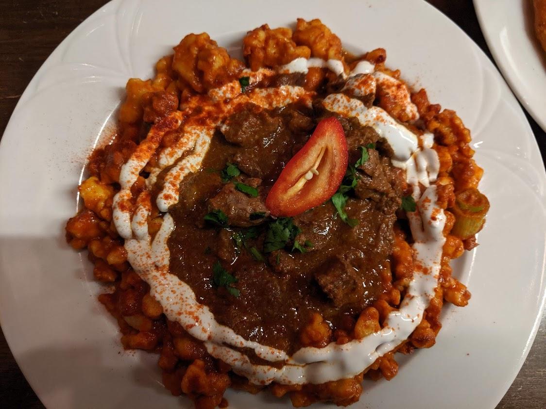 Cosa mangiare a Budapest: gulash