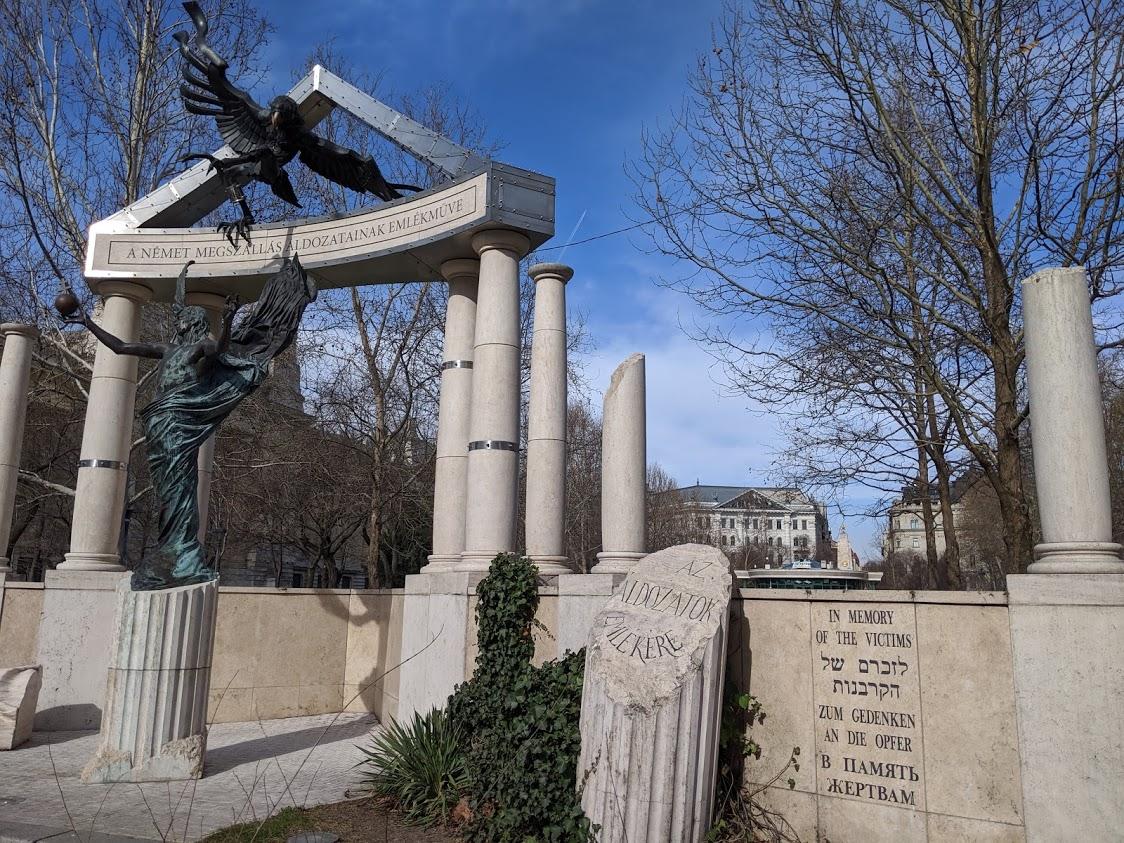 Cosa visitare a Budapest in 4 giorni: Liberty square - il monumento all'Olocausto