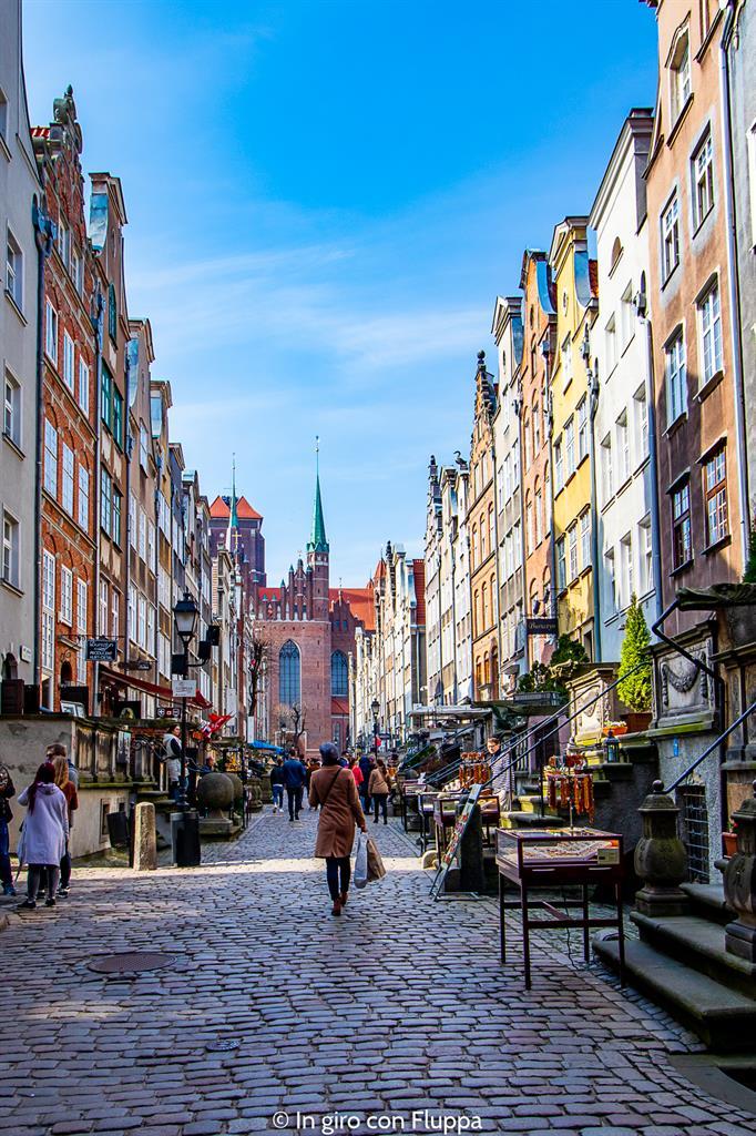 Cosa visitare a Danzica in un giorno: Ulicka Mariacka