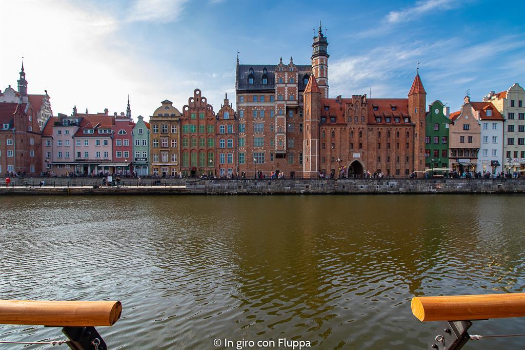 Cosa visitare a Danzica in un giorno: il lungofiume