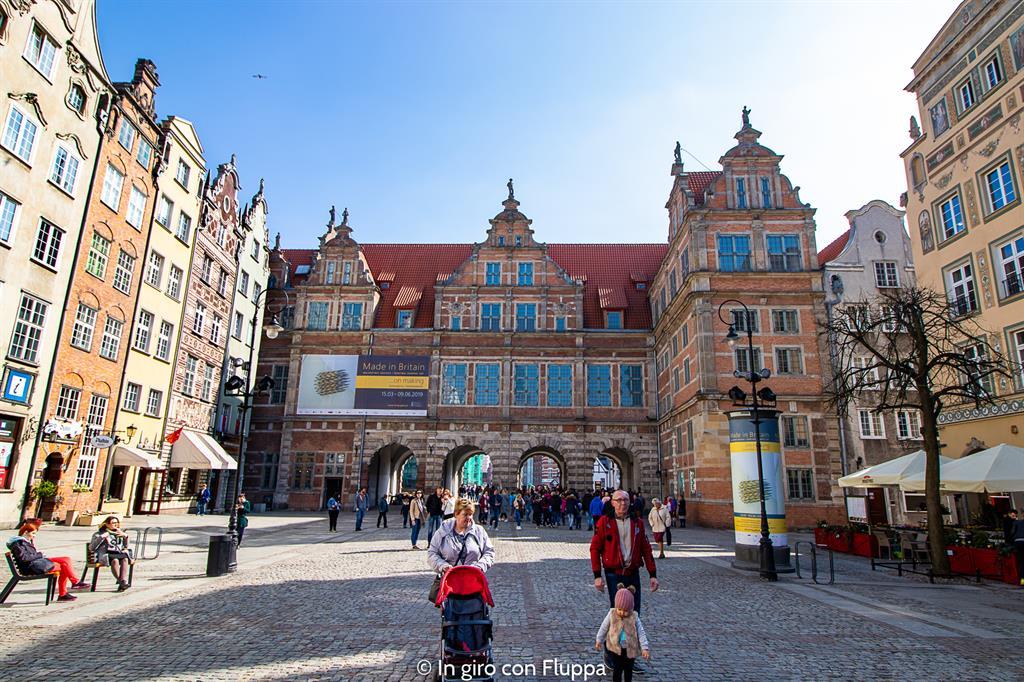 Cosa visitare a Danzica in un giorno: Porta Verde