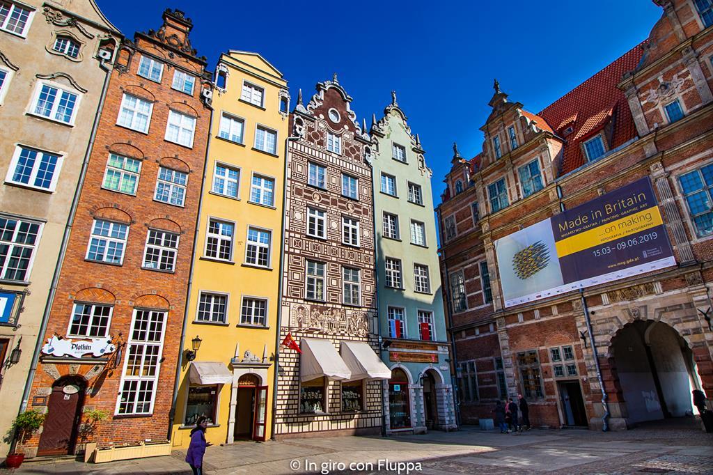Cosa visitare a Danzica in un giorno: Piazza del Mercato