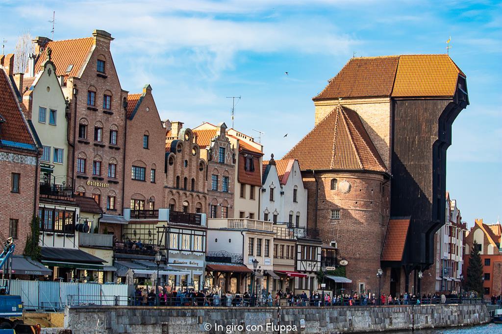 Cosa visitare a Danzica in un giorno: la Gru portuale