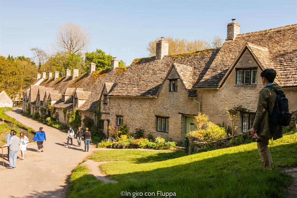 Cotswolds - Bibury, Arlington Row