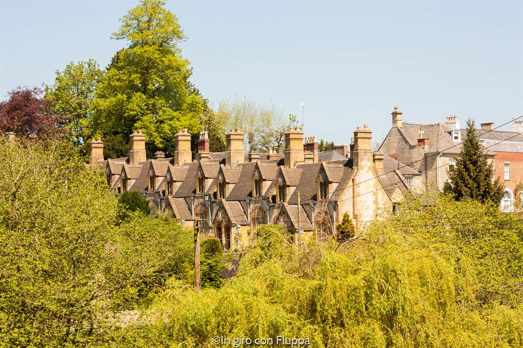 Cotswolds - i tetti di Dent's Terrace