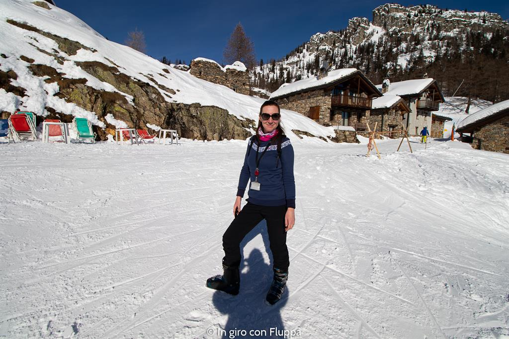 La mia settimana bianca a Courmayeur - sciare