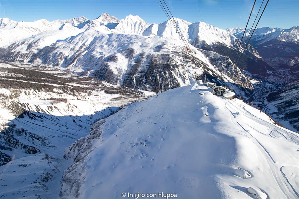 La mia settimana bianca a Courmayeur - Skyway Monte Bianco