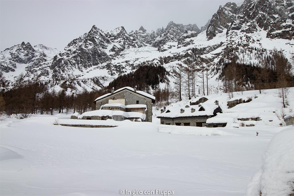 La mia settimana bianca a Courmayeur - trekking in Val Ferret