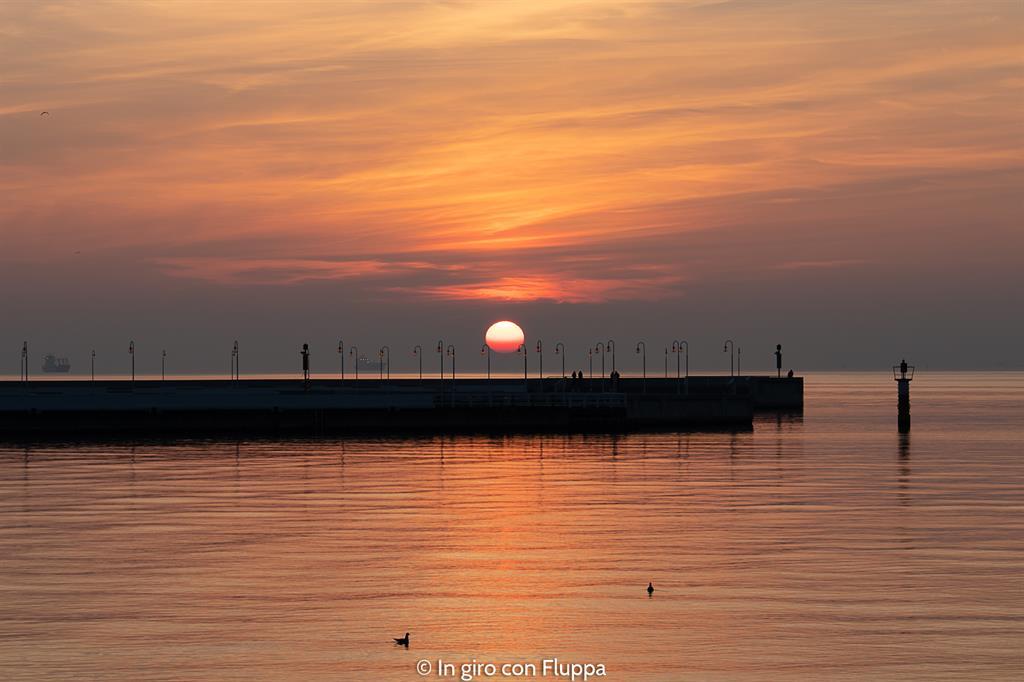 Cosa vedere nei dintorni di Danzica: Sopot, alba sul molo