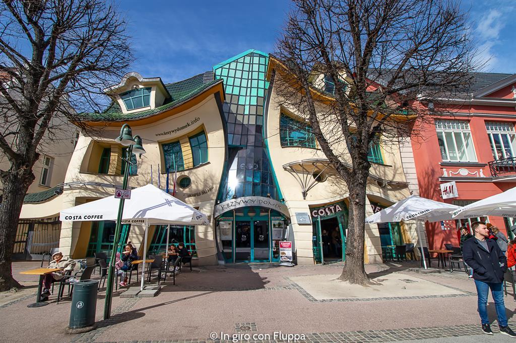 Cosa vedere nei dintorni di Danzica: Sopot, la casa ubriaca