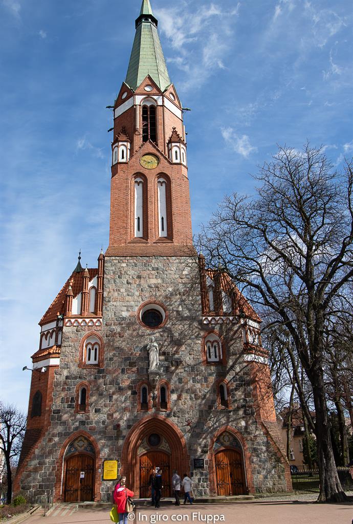 Cosa vedere a Sopot: Chiesa di San Giorgio